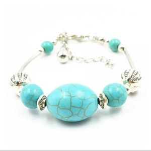 Jewelry - Festival Turquoise & Silver Statement Bracelet